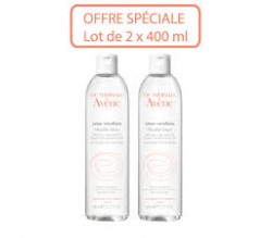 AVENE EAU MICELLAIRE LOT*2 x 400ML