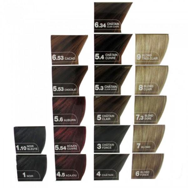 elcea coloration permanente noir bleut 110 - Coloration Permanente Noir