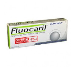 FLUOCARIL Blancheur 2 x 75 ml